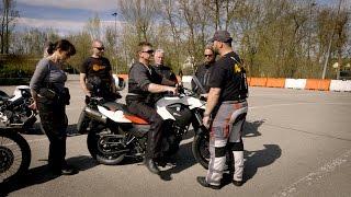 BMW Motorrad-Wiederaufsteiger-Training