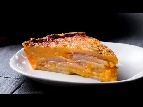 Cheesy Potato Cake