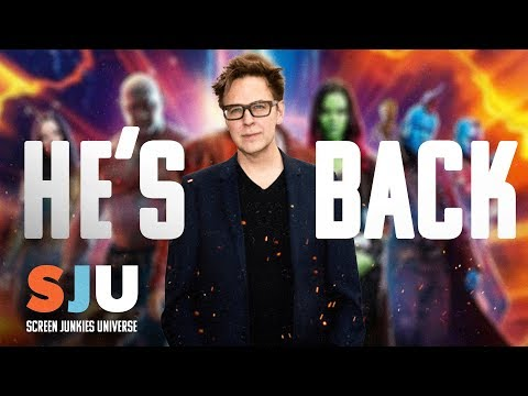 James Gunn Back to Direct Guardians of the Galaxy 3 (FAN FRIDAY)