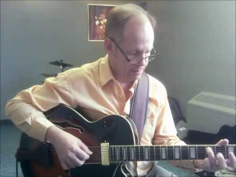 Darn That Dream - Solo Jazz Guitar - Ibanez Expressionist 7 String Arch Top