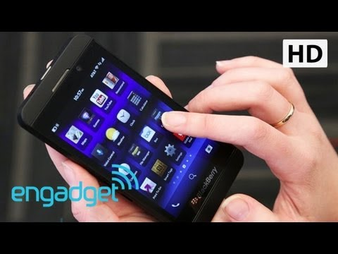 BlackBerry Z10 Review | Engadget