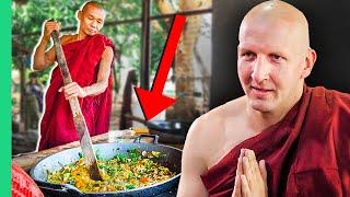 Secret Diet of Myanmar MONKS!!! Live to 100!!