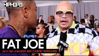 Fat Joe Talks His Upcoming Album, Remy Ma's Success & More (2017 BET Awards Red Carpet with HHS1987)