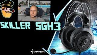 Panzerknacker   Skiller SGH3 Headset - Sharkoon  - Review
