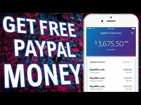 How To Get FREE PAYPAL MONEY 2018 ! ( Legit & Working as of