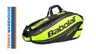 Babolat Pure Aero Racket Holder x 9 video