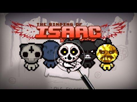 Isaac pod Lupou - Playable Bosses Mód (Mod Showcase)