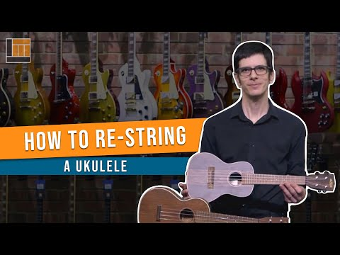 How to Change a String on a Ukulele