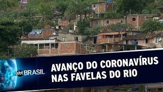 SBT BRASIL: Onze comunidades do Rio de Janeiro já registram casos do novo coronavírus