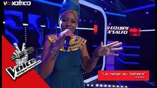 Tankya « La neige au Sahara » de Anggun I Les Epreuves Ultimes The Voice Afrique 2018