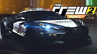 The Crew 2 - NEW HEIST UPDATE! - Corvette C8, Cops & MORE! (The Chase Reaction)