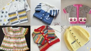 Most Beautiful And Stylish Hand Knitting Baby Sweaters Designs