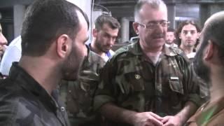 زيارة العقيدعبدالجبارعكيدي لمصنع الذخيرة في لواء احرار سوريا واحدث القذائف المخترعة بحجم 250كغ تحميل MP3