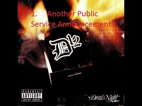 D12 - Another Public Service Announcement