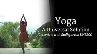 Yoga: A Universal Solution at UNESCO