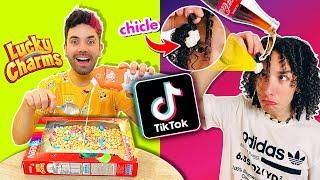Probamos los LIFE HACKS más TONTOS de TikTok *Impresionante*