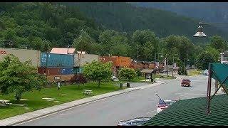 Skykomish, Washington - Virtual Railfan LIVE