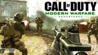 Call of duty Modern Warefare Remastered