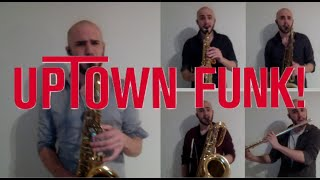 Uptown Funk (Mark Ronson ft. Bruno Mars) - Woodwinds Only