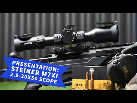 steiner-optics: Presentation and video: Steiner adds two versions of the M7Xi 2.9-20x50 scope to the M series