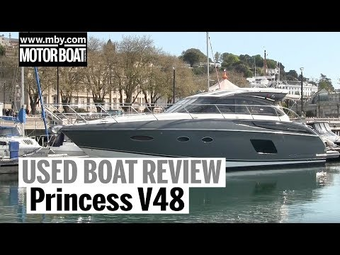 Princess V48 | Used Boat Review | Motor Boat & Yachting