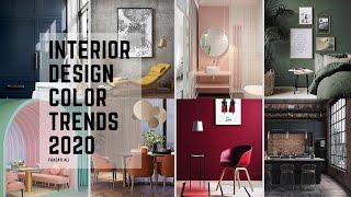 INTERIOR DESIGN COLOR TRENDS 2020 | TOP 8