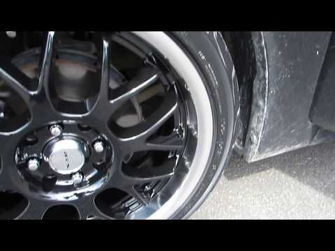 2014 HYUNDAI ACCENT WITH 17 INCH CUSTOM RIMS & TIRES (HATCHBACK)