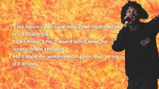 Saba - SmthnthtIwnt (ft. Donnie Trumpet & SOX) - Lyrics