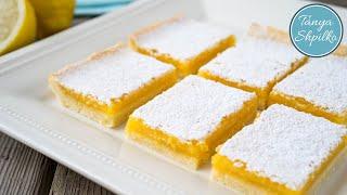 Лимонные Квадратики | Lemon Squares/Bars | Tanya Shpilko