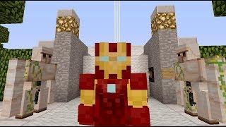 大海解說 我的世界Minecraft 喪尸圍城鋼鐵俠生存實錄