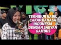 Terhibur Nabil cakap bahasa Indonesia dengan Sabyan Gambus MeleTOP Tya Ariffin