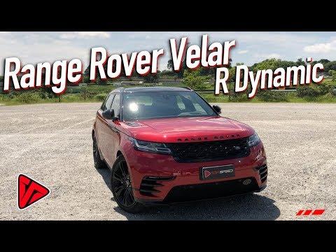 Avaliaçao Range Rover Velar R Dynamic  | Top Speed