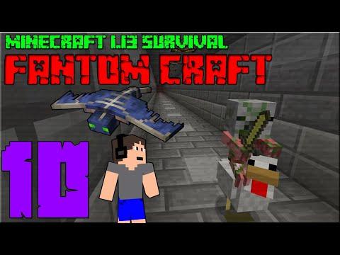 VERZE 1.13.1! Minecraft survival 1.13! #10 |FANTOM CRAFT|  | 1440p