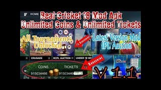 how to download real cricket 18 mod apk latest version