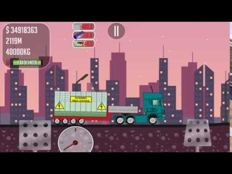 Game Trucker Joe is transporting a transformer to the construction of a nuclear power plant