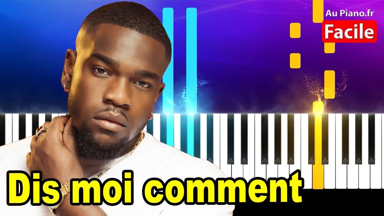 Tayc Dis moi comment – Piano Cover Tutorial Paroles (Au piano.fr)