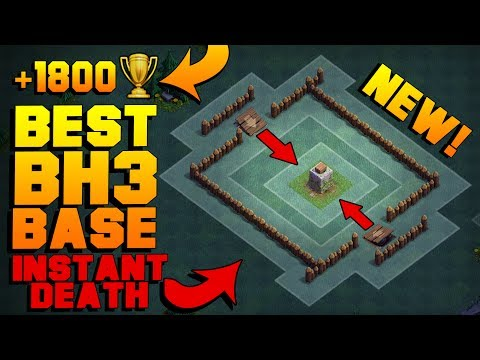 BEST Builder Hall 3 Base W/ PROOF! | NEW CoC BH3 ANTI GIANT BUILDER BASE!! | Clash Of Clans Mp3