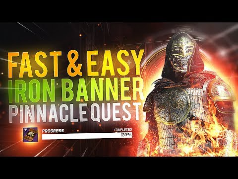 Destiny 2: FAST & EASY IRON BANNER QUEST! (Full Quest Guide)