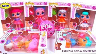 NEW СЕМЕЙКА ПОДРОСТКИ Куклы ЛОЛ Сюрприз! Мультик  ЛОЛ! LOL Families Surprise unboxing! Распаковка