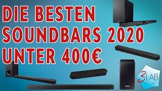 Die besten Soundbars 2020 | Unsere Top 5 Soundbar Empfehlungen unter 400 Euro