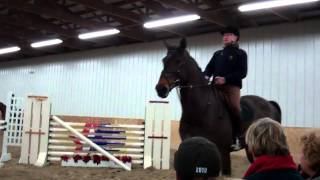 George Morris Suppling A Horse