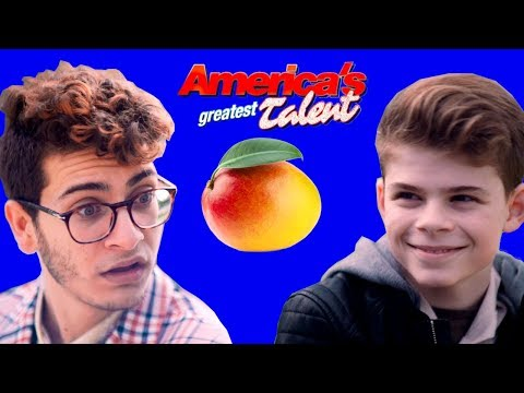 BOOM!  AMERICA'S GREATEST TALENT!  MERRICK HANNA - Contestant Interview w/NOAH GROSSMAN (видео)