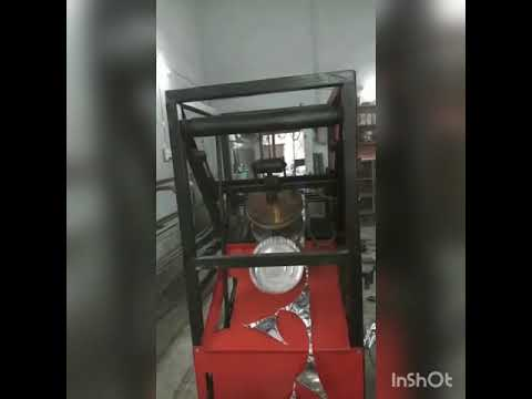 Designer Paper Plate Machine