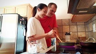 #32: Chồng cắt tóc cho vợ | Vợ nấu cơm, chồng rửa chén
