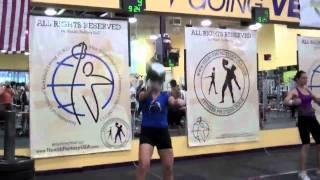 Kettlebell World Championship - Women's Division IUKL 2011