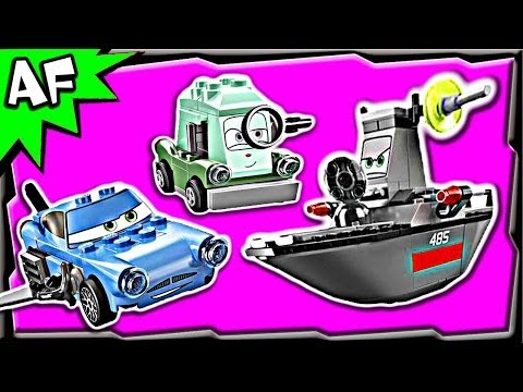 Vidéo LEGO Cars 8426 : L'évasion en mer