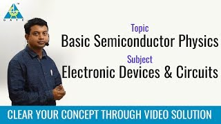 Basic Semiconductor Physics - EDC, Important GATE questions