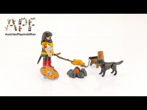 Vidéo PLAYMOBIL Special Plus 4769 : Guerrier barbare avec chien