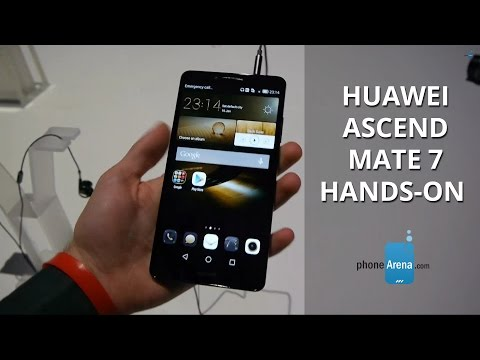 Huawei Ascend Mate 7 hands-on