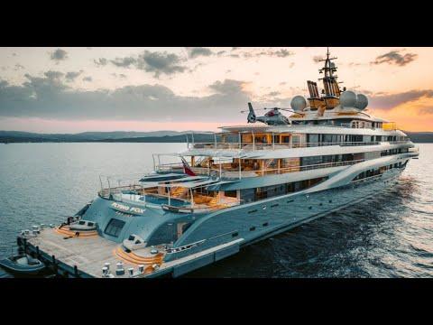 Jeff Bezos New $500 MILLION Superyacht Has Its Own Yacht